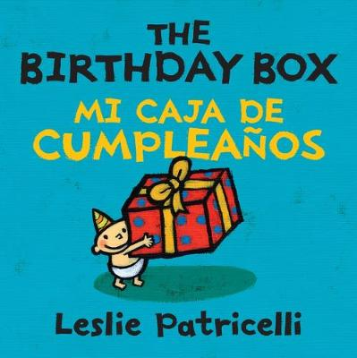 Birthday Box Bilingual Board Book by Leslie Patricelli