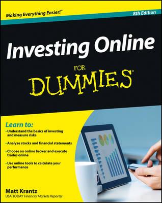 Investing Online For Dummies by Matt Krantz