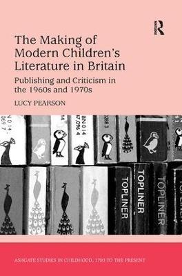 Making of Modern Children's Literature in Britain book