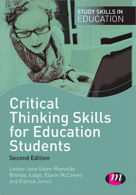 Critical Thinking Skills for Education Students by Elaine McCreery
