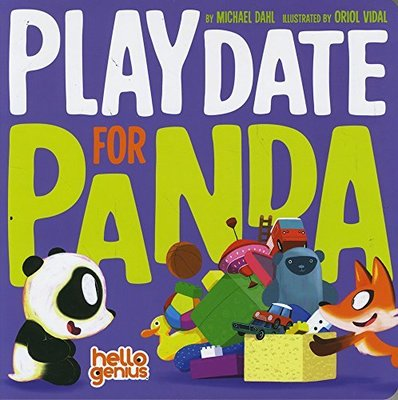 Playdate for Panda by Michael Dahl