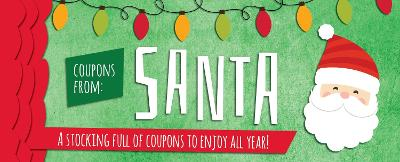 Coupons from Santa by Sourcebooks
