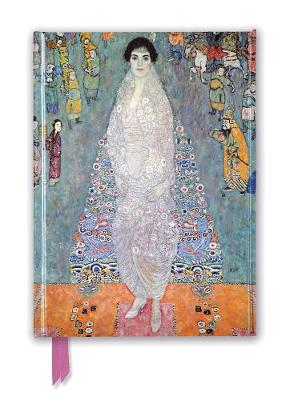 Gustav Klimt: Portrait of Baroness Elisabeth Bachofen-Echt (Foiled Journal) by Flame Tree Studio