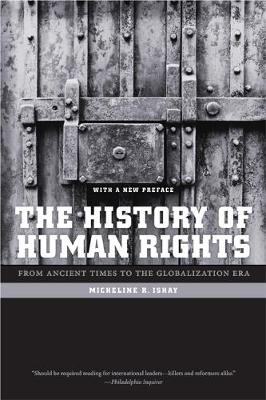 History of Human Rights by Micheline R. Ishay