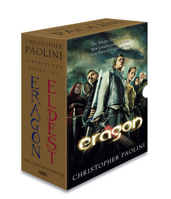 Eragon & Eldest box set by Christopher Paolini