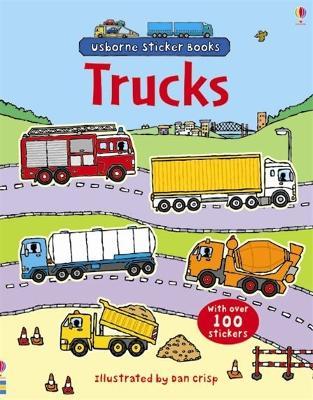 Trucks Sticker Book by Sam Taplin