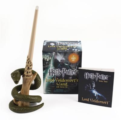 Harry Potter Voldemort's Wand with Sticker Kit: Lights Up! by Running Press