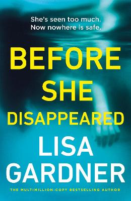Before She Disappeared: From the bestselling thriller writer book