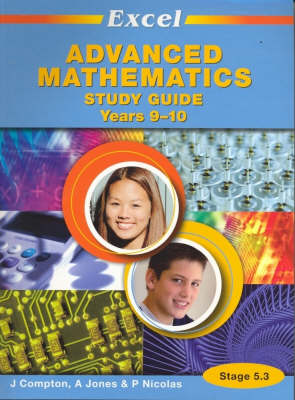 Excel Advanced Mathematics Study Guide Years 9-10 by J. Crompton