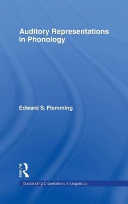 Auditory Representations in Phonology book
