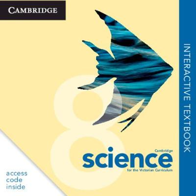 Cambridge Science for the Victorian Curriculum Year 8 Digital (Card) by Evan Roberts