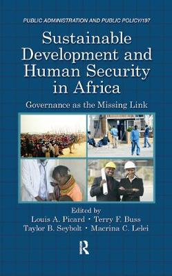 Sustainable Development and Human Security in Africa by Louis A. Picard