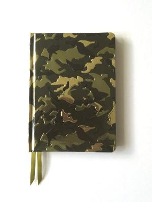 Camouflage (Contemporary Foiled Journal) by Flame Tree Studio