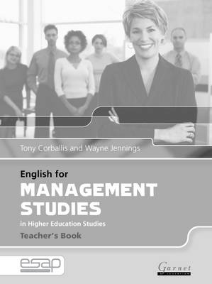 English for Management Studies Teacher's Book by Tony Corballis
