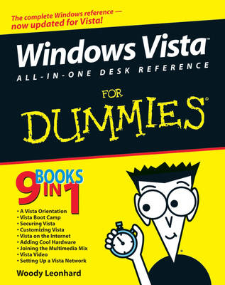 Windows Vista All-in-One Desk Reference For Dummies by Woody Leonhard