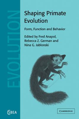 Shaping Primate Evolution book