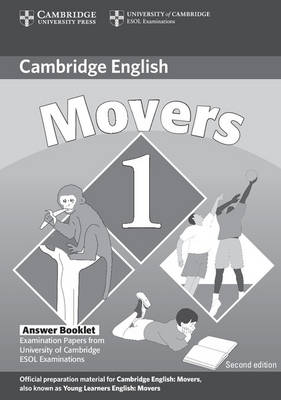 Cambridge Young Learners English Tests Movers 1 Answer Booklet book