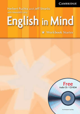 English in Mind Starter Workbook with Audio CD/CD ROM by Herbert Puchta