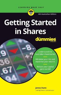 Getting Started in Shares For Dummies by James Dunn