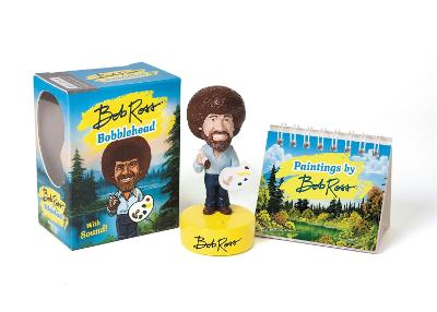 Bob Ross Bobblehead: With Sound! book