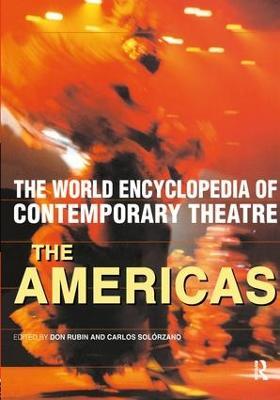 World Encyclopedia of Contemporary Theatre book