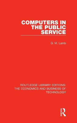 Computers in the Public Service book