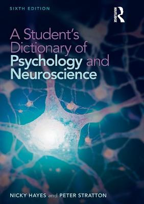 Student's Dictionary of Psychology and Neuroscience book
