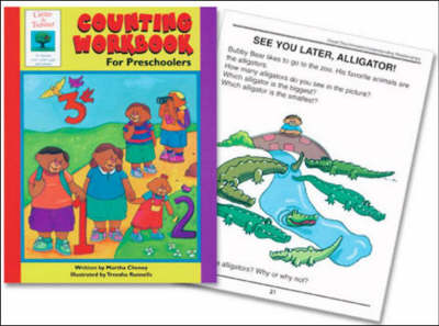 Counting Workbook: For Preschoolers by Martha Cheney