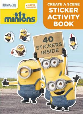 Minions - Create a Scene Sticker Activity Book by null