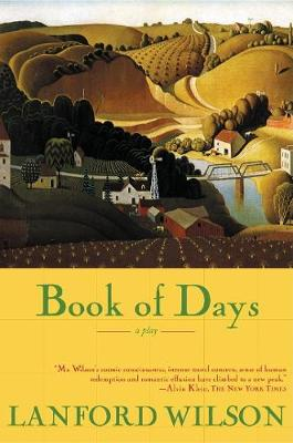 Book of Days by Lanford Wilson