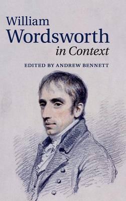 William Wordsworth in Context book