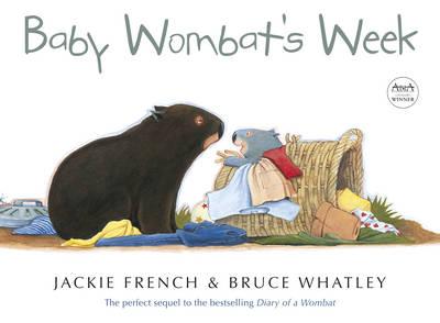 Baby Wombat's Week book