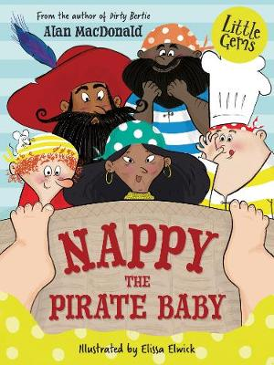 Nappy the Pirate Baby by Alan MacDonald