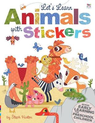 Let's Learn Animals with Stickers by Oakley Graham