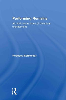 Performing Remains book