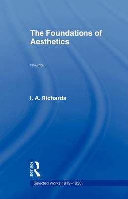 Foundations Aesthetics book