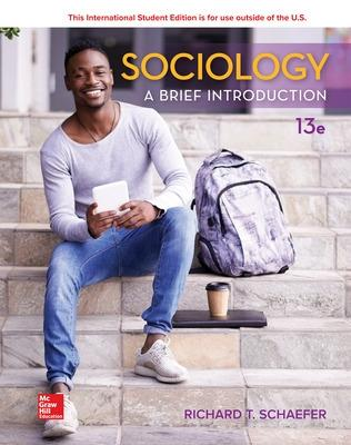 ISE Sociology: A Brief Introduction by Richard T. Schaefer