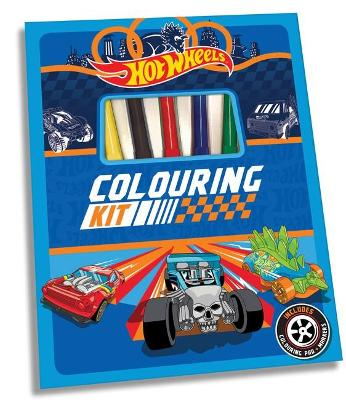 Hot Wheels: Colouring Kit book