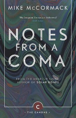 Notes from a Coma book