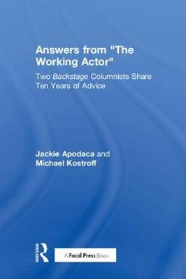 """Answers from """"The Working Actor"""" by Martin Gilbert"""