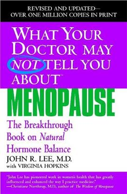 What Your Dr...Menopause by John R. Lee