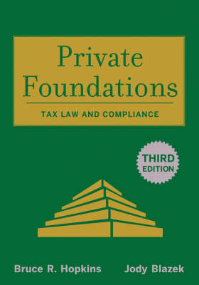 Private Foundations book