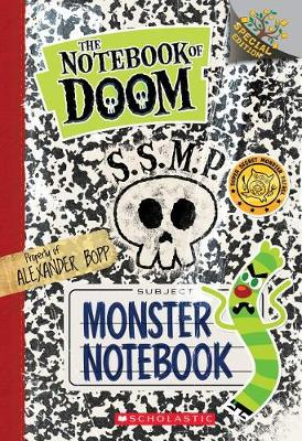 Monster Notebook: A Branches Special Edition (the Notebook of Doom) by Troy Cummings