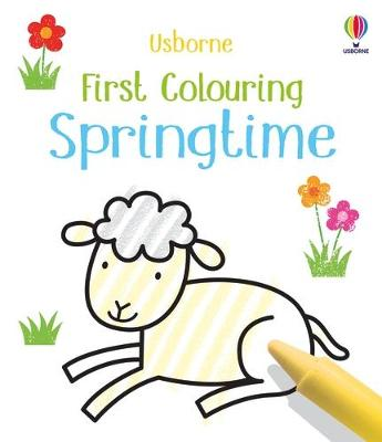 First Colouring Springtime book