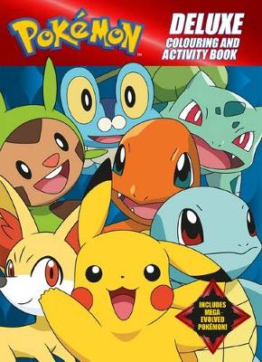 Pokemon Deluxe Colouring and Activity Book by