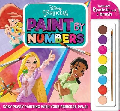 Disney Princess: Paint by Numbers book