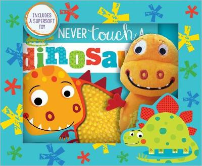 Never Touch a Dinosaur! Book and Toy Boxed Set book
