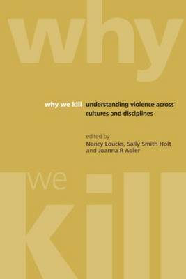 Why We Kill book