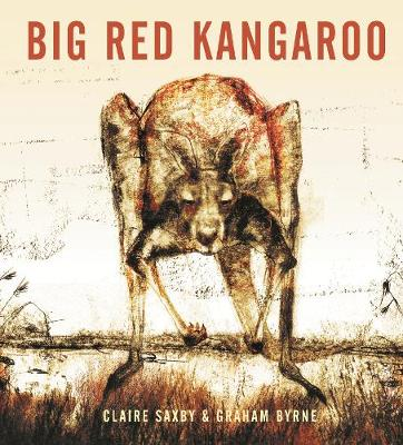 Big Red Kangaroo by Graham Byrne
