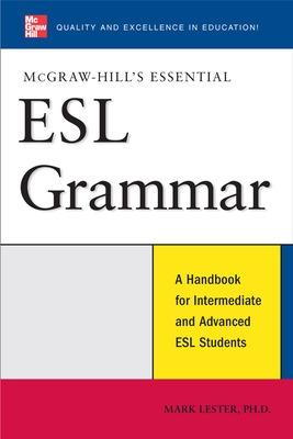 McGraw-Hill's Essential ESL Grammar by Mark Lester